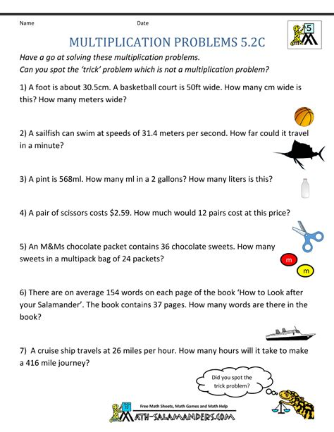 Fifth grade math word problems — JUSTRECOMMENDS GQ